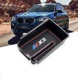 RUIYA Central Console Accoudoir Boîte Personnalisé pour 2018 BMW X3 G01, Boîte De Rangement Console Organisateur Insert Plateau, Accessoire De Voiture