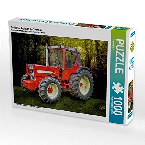 Oldtimer Traktor McCormick 1000 Teile Puzzle quer