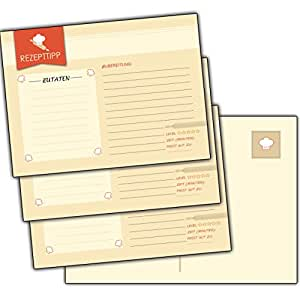 52 rezeptpostkarten rezeptkarten hochzeitsspiel hochzeit postkarte rezept karten party feier. Black Bedroom Furniture Sets. Home Design Ideas