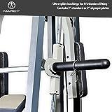MARCY Heim-Gym Multipresse mit Hantelbank Smith-Maschine, Schwarz, One Size - 6