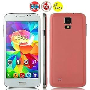 F-G906+ Dual Core 3G Smartphone w/ MTK6572W 5.0 Inch 512MB+4GB GPS - Pink