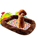 zhou-pets shop, Estera colorida del animal doméstico a cuadros ( Specification : S: 44*33*6cm )