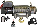 12000lb Winch 12V Recovery Trailer & Wireless Remote Control 12000EWX