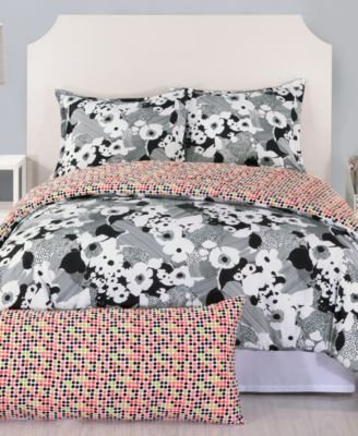 trina-turk-2-piece-sophisticated-floral-comforter-set-twin-black-by-trina-turk
