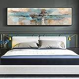WSNDGWS Nacht Malerei Wohnzimmer Hintergrund Wanddekoration Malerei Painted Banner Leinwand Gemälde Ohne Bilderrahmen C2 35x120 cm