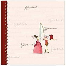 Edel-Gästebuch Motiv Federzeichnung