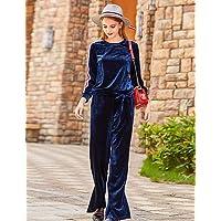 dbf912e78a55 Jolie PU PU Camicia Pantalone Completi Abbigliamento da Donna Sport Casual  Semplice Autunno Inverno