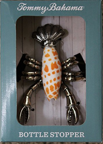 tommy-bahama-colorful-lobster-bottle-stopper-silver-by-tommy-bahama