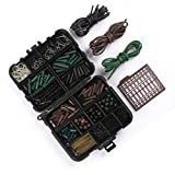 CFtrum 120 stk/box Angeln Angehen Box Kit, inkl. Jig Haken, Bullet Bass Werfen Sinker Gewichte,...
