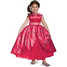 Disguise Elena Ball Gown Deluxe Elena of Avalor Disney Costume, X-Small/3T-4T by Disguise