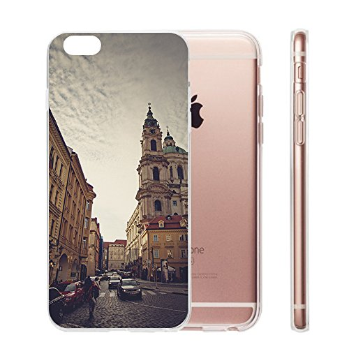 Custodia iPhone 6 Cover, iPhone 6s Clear Soft TPU Protective Case Back Cover with Cute Cartoon Pattern [Slim Fit] [Ultra Thin] for 4.7 inches iPhone 6s (7) 1