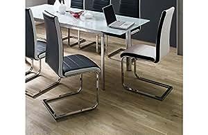 Chaise design bicolore Torino H