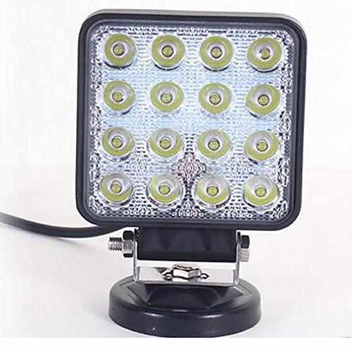 ZHAS 4 Zoll 48 W Arbeitsscheinwerfer led super bright Auto Lkw graben Scheinwerfer LED-Beleuchtung - Utility-anhänger Led-leuchten