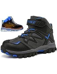 VITIKE Scarpe da Escursionismo Scarpe Scarponi da Neve Invernali Piatto  Pelliccia Stivali Sneaker Sportive Esterne Scarpe b48a299e7ed