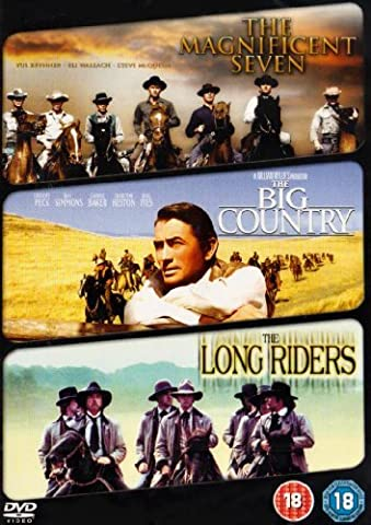 The Magnificent Seven/The Big Country/The Long Riders [DVD] by Yul Brynner