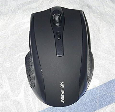 Elyseesen Souris sans fil sans fil de souris 2,4 GHz pour ordinateur portable pour ordinateur portable Nouveau