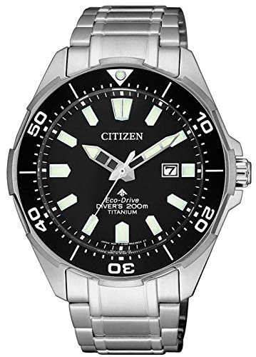 Citizen Herren Analog Quarz Uhr mit Titan Armband BN0200-81E