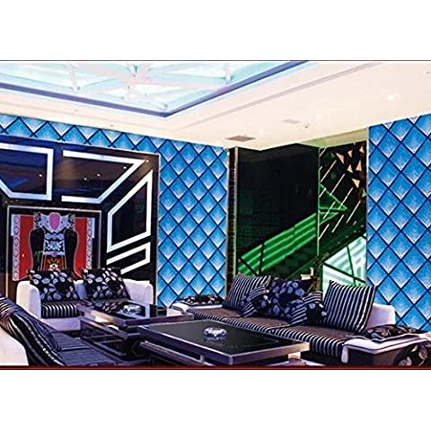 Hotel KTV Club oro plata aluminio cepillado fondos tienda decoración techo reflectante hoja de oro wallpaper , blue