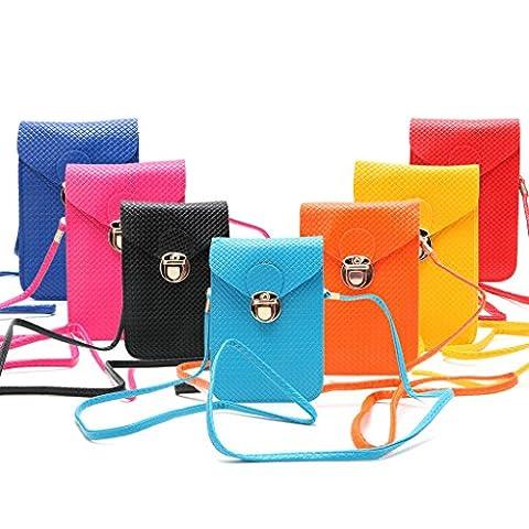 Dairyshop Fresh Color Shoulder Handbag For Cellphone Handset Important Money