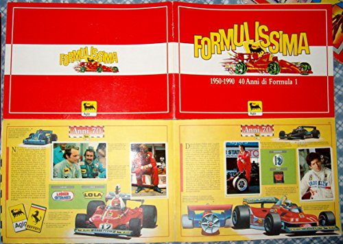 album-figurine-foto-stickers-formula-1-uno-one-vintage-agip-1991-formulissima-ferrarimclarenpilotifa
