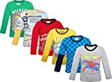 #10: Devil Full Sleeves Assorted Print And Colour Tshirt Combo - Pack of 6