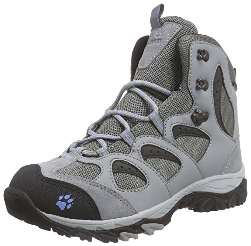 Jack Wolfskin - Mountain Storm Texapore Mid, Scarpe da escursionismo Donna Grau (air blue 1095)