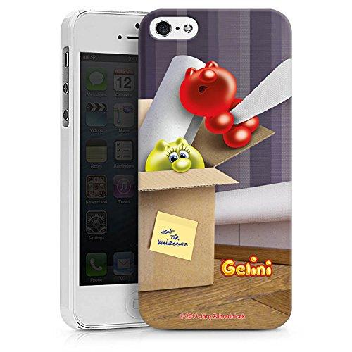 Apple iPhone X Silikon Hülle Case Schutzhülle Gelini Gummibärchen Karton Hard Case weiß
