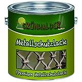 Grünwalder Metallschutzfarbe premium Metallschutzlackschnelltrocknend und leicht zu verarbeiten - TOP!