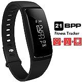 Fitness Tracker, Aupalla 21BPP Activity Tracker Smart Band (versione femminile) funziona con...