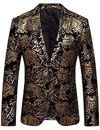 Amazon.it  Oro - Giacche da smoking   Abiti e giacche  Abbigliamento aa6e1ff4908