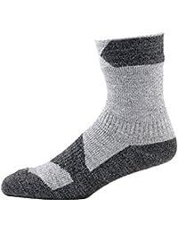 Sealskinz Walking Knöchel socks-grey Marl/Dark Grau