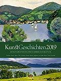 KunstGeschichten 2019, Wandkalender im Hochformat (50x66 cm) - Kunstkalender mit Fotografien der Originalschauplätze mit Monatskalendarium