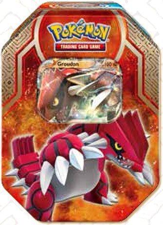 Pokemon Legends of Hoenn Groudon-EX Collector Tin (Pokemon Brett Spiel)