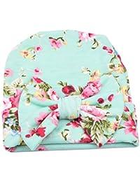 TININNA Bonnets Nouveau Né Coton Crochet Papillons Chapeau Unisexe Bébé  Garçon Fille Naissance Tricot Hat Cap aceb4923ca7