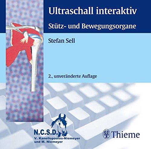 Ultraschall interaktiv. Stütz- und Bewegungsorgane. CD-ROM für MS-DOS ab 4/Windows ab 3.1: Training der Ultraschalldiagnostik der großen Gelenke (Schulter, Ellenbogen, Hand, Hüfte, Knie, Sprunggelenk) und der relevanten Muskeln