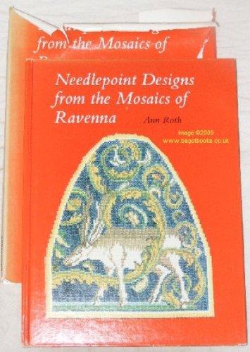 NEEDLEPOINT DESIGNS FROM THE MOSAICS OF RAVENNA.