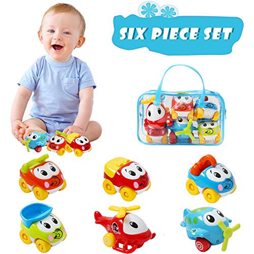 Eloka Car Toys for Kids, Baby Pu...