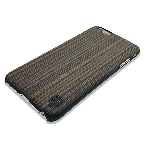 iPhone 6 Plus / 6s Plus Holzhülle Cover ** Eco Echt Holz - Ultra-Slim ** Einzigartiges Desgin ** Perfekte Passgenauigkeit ** Woodcase by UTECTION® in Pappelholz (Iphone 4 Body Armor Hybrid Case)