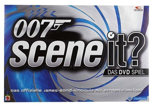 Mattel - Scene it? James Bond - Kinoquiz mit DVD