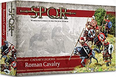 Warlord Games WAR-152211002 - Jeux De Seigneurs De Guerre - SPQR - Cavalerie De Légions De César - Cavalerie Romaine