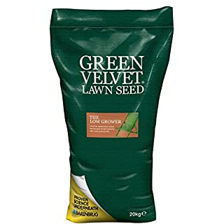 Green Velvet Lawn Seed The Low Grower 20 kg