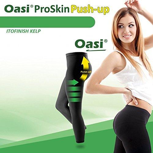 ProSkin Echte Anti Cellulite Leggins mit Push Up Effekt Schwarz