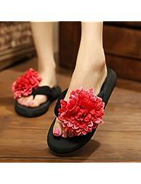 3CM Zapatillas de deporte femeninas de la manera del verano / deslizadores frescos lindos de la playa Tamaños de color múltiples ( Color : 1005 , Tamaño : EU36/UK4/CN36 )