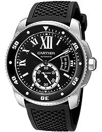 réplica Cartier Calibre de Cartier Diver 42mm Acero reloj W7100056