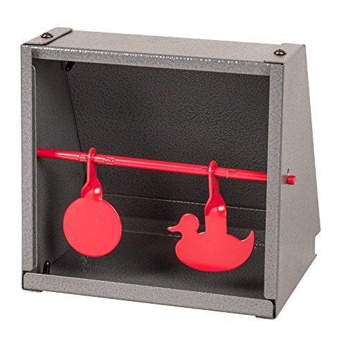 Kugelfangkasten Duo 14x14 cm Metall Scheibenkasten Zielscheibe Schießkasten, Kugelfangkasten:1 Stück