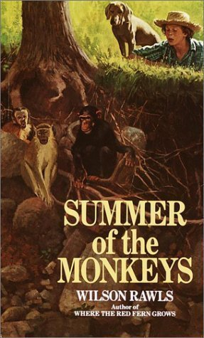 Summer of the Monkeys (Bantam Starfire Books) 7th (seventh) Printing Edition by Rawls, Wilson [1992]