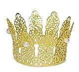 Prinzessin Krone Goldmarie - Tolles Accessoire für Karneval, Mottoparty, Geburtstag oder Junggesellenabschied