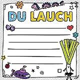 FUCK: Du Lauch – Klebezettel