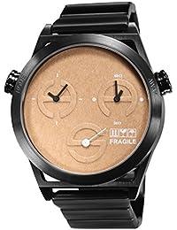 TACS World Kraft Analog Orange Dial Unisex Watch - TS1305A