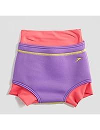 Speedo Spd Swimnappy Cover If Costume da Bagno Bambino, Purple Rain/Raspberry Fil, 9-12